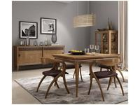 F.lli Pistolesi: Epoca: стол обеденный раскладной  (canaletto noce)