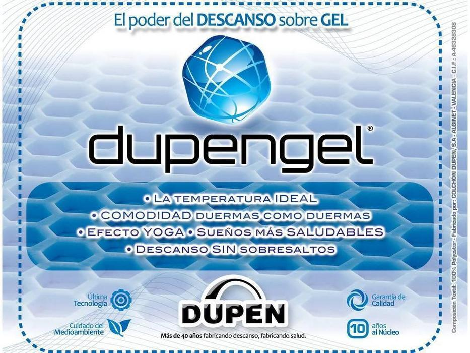 Dupen: SuperGel: матрас ортопедический 180х200