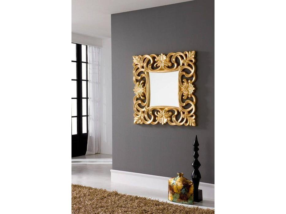 Dupen: зеркало настенное  (золотой)