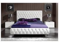 Dupen: Adriana: кровать 180х200 Адриана  (белый)
