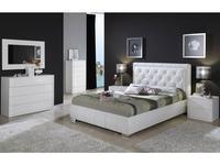 Dupen: Cinderella: кровать 160х200  (белый)