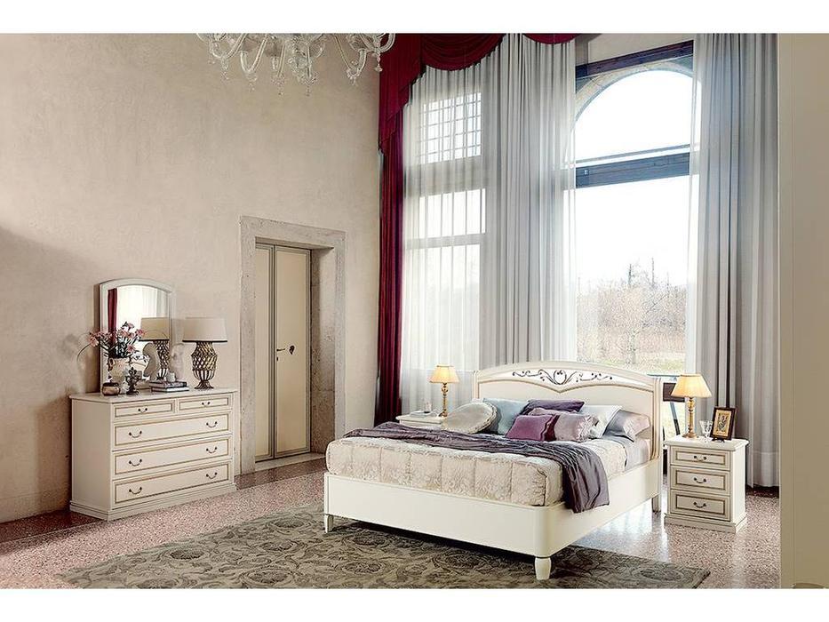 M. Villanova: Aurora: кровать двуспальная  160х210 без изн. (беж)