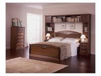 M. Villanova: Aurora: кровать 180х200  (орех)