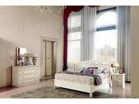 M. Villanova: Aurora: кровать двуспальная  180х210 без изн. (беж)