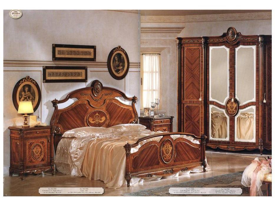 F.lli Pistolesi: Трезор: кровать 180х205  (noce)