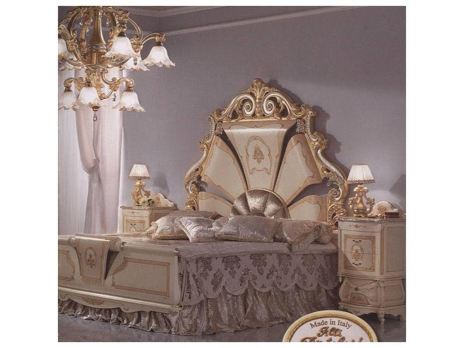 F.lli Pistolesi: Мануэль: кровать 192х208  (noce)