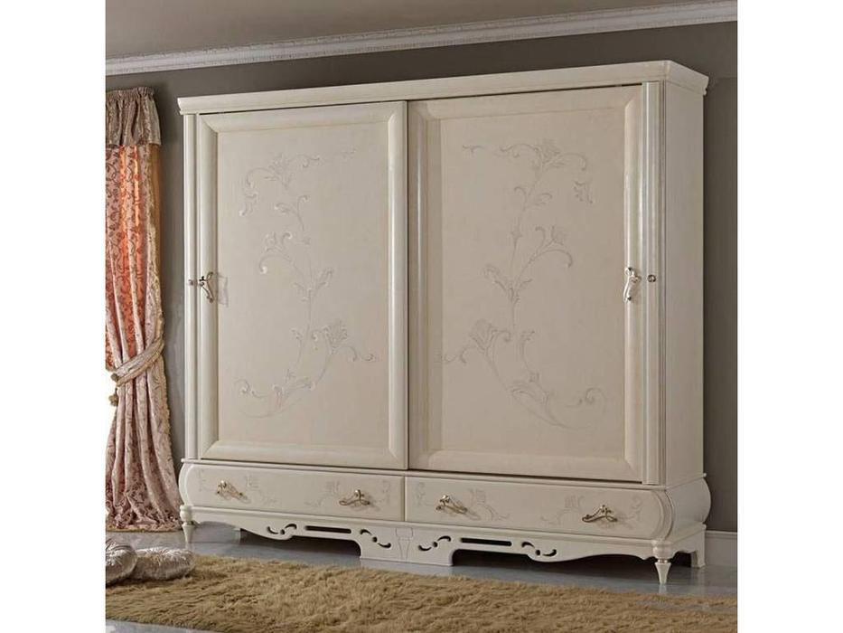 F.lli Pistolesi: Noemi: 2 дверный шкаф-купе  (bianco fiore)