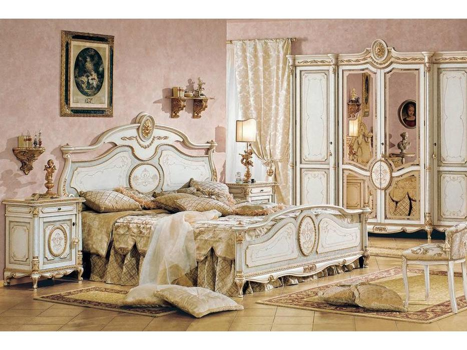 F.lli Pistolesi: Трезор: кровать 162х198  (laccato veneziano)