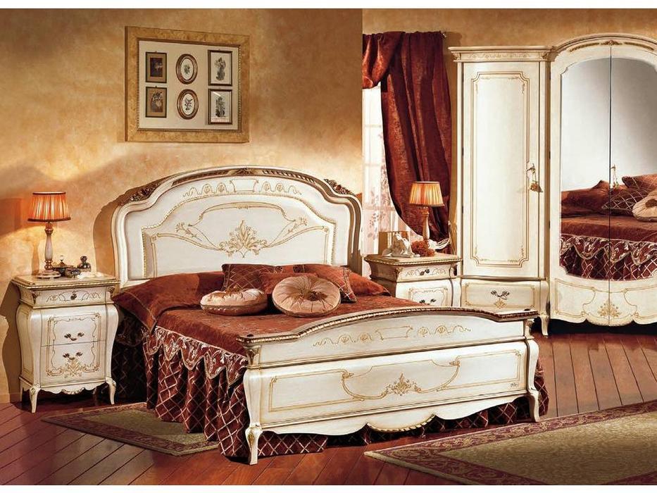 F.lli Pistolesi: Изабель: кровать 167х198  (laccato fiorentino)