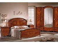 F.lli Pistolesi: Изабель: кровать 205х208  (noce)