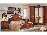 F.lli Pistolesi: Трезор: кровать 165х198  (noce)