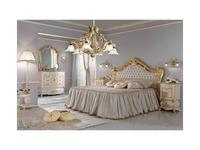 F.lli Pistolesi: Мануэль: кровать 160х200  (oro)