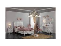 F.lli Pistolesi: Noemi: кровать 120х200  (bianco fiore)