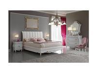 F.lli Pistolesi: Noemi: кровать 160х200  (perlato)