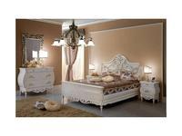 F.lli Pistolesi: Noemi: кровать 160х200  (decorato)