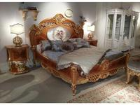 F.lli Pistolesi: Regina: кровать 180х200  (noce)