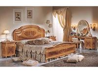 F.lli Pistolesi: Изабель: кровать 202х208  (naturale)