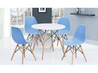 СФ: стол обеденный круглый  (белый)