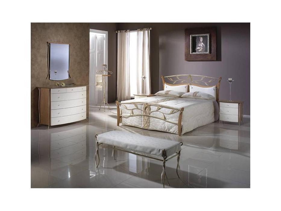 Proforma Diseno: Madrid: кровать 135х200 (cerezo, marron antico)