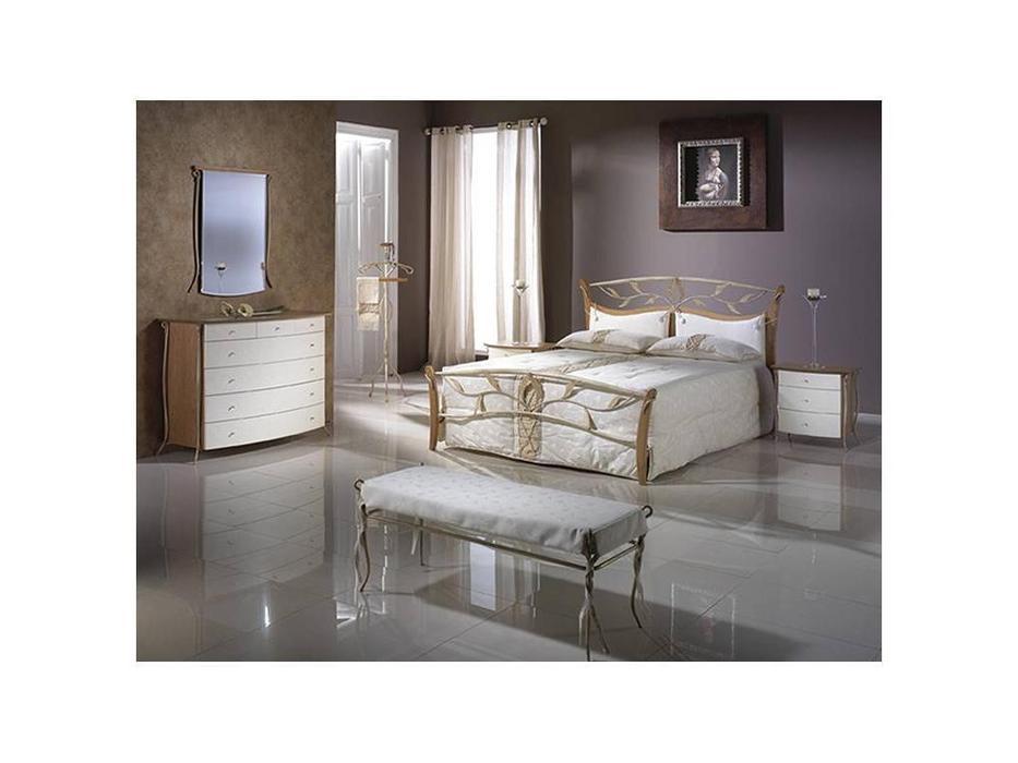 Proforma Diseno: Madrid: кровать 180х200 (cerezo, claro patina)