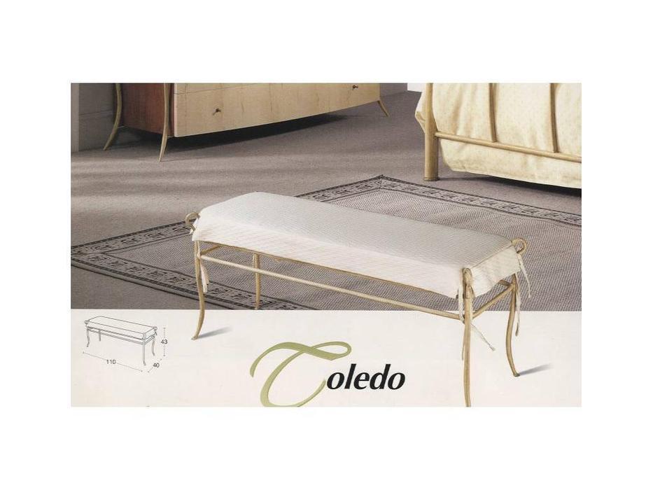 Proforma Diseno: Toledo: банкетка (cerezo,claro patina)