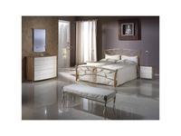Proforma Diseno: Madrid: кровать 150х200 (cerezo, claro patina)