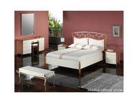 Proforma Diseno: Madrid: кровать 130х195 c подъемным механизмом (cerezo,marron antico)
