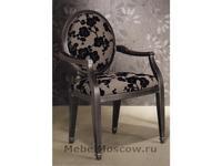 Lujosa Лухоса: кресло Lovely ткань (лак антик)