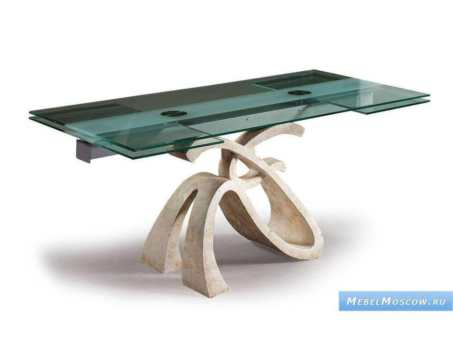 Proforma Diseno: Yoli: стол обеденный раскладной (крем)
