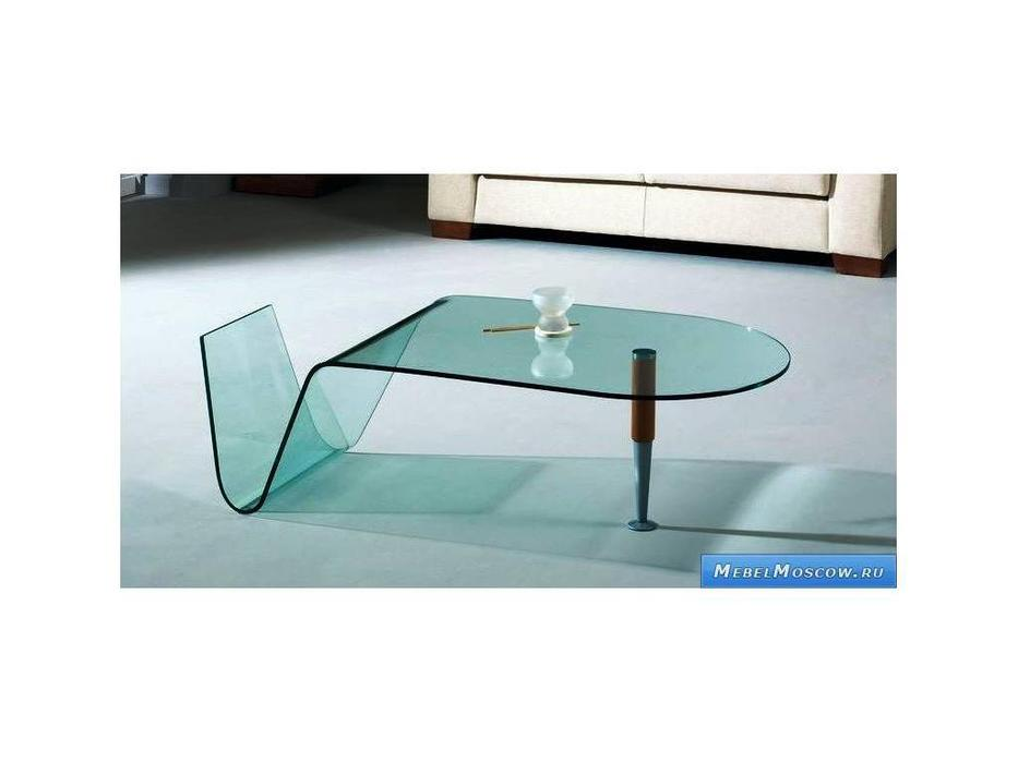 Proforma Diseno: Cortes: стол журнальный (черешня, стекло)