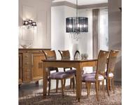 Francesco Pasi: Deco: стол обеденный Деко раскладной 110/160  (вишня)