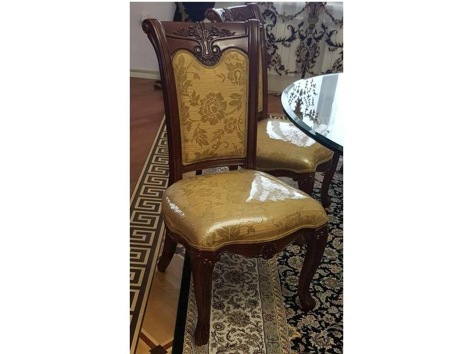 Carpenter: Изабелла: стул  ткань (красное дерево)