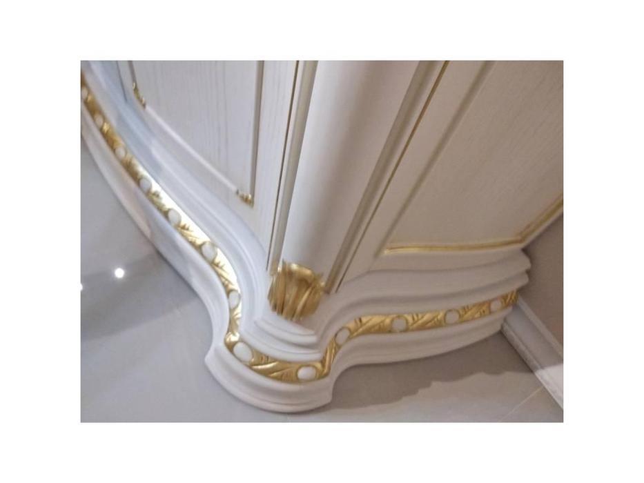 Carpenter: Изабелла: обувница  (белый, золото)