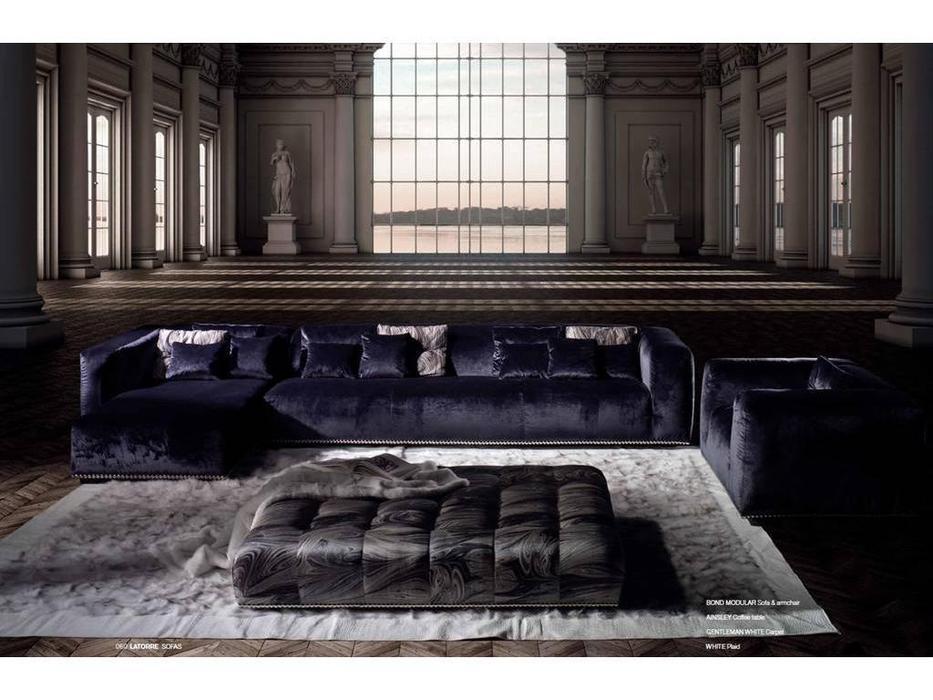 Ascension Latorre: Bond modular: диван угловой  (ткань серия S)