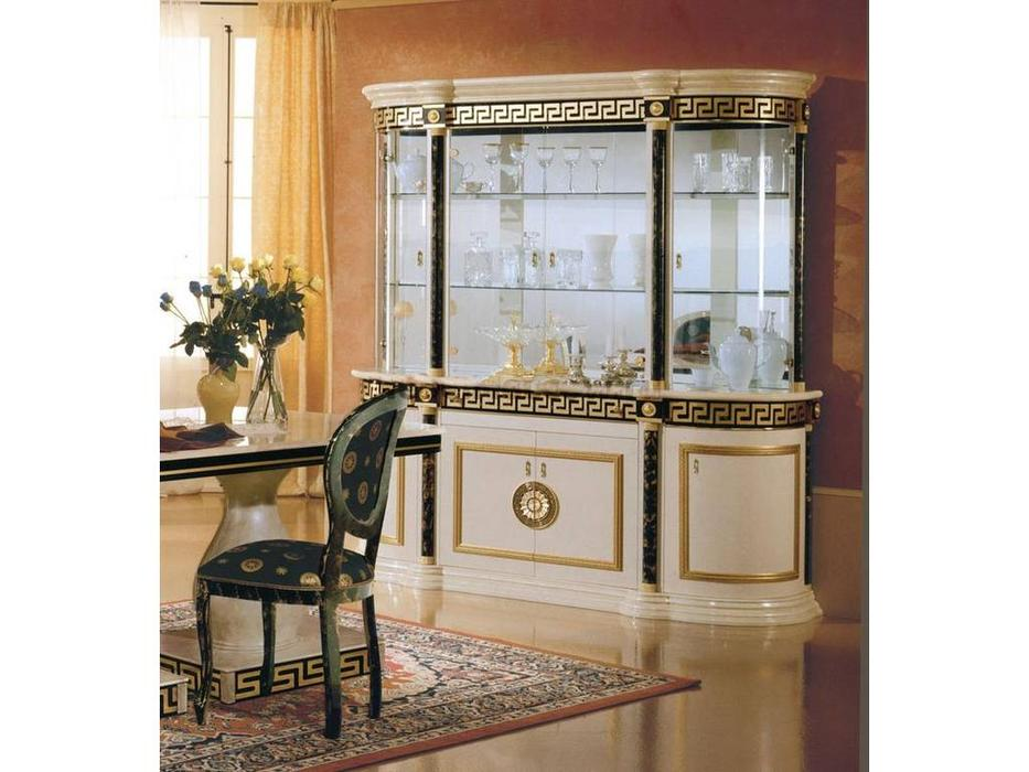 Mobis: Royale: витрина 4-х дверная Роял (белый)