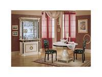 Mobis: Royale: стол обеденный Роял круглый 111/150(белый)