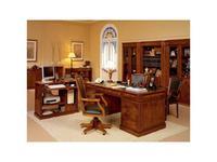 Inter CL. Mobilia: Stilum: стол письменный 2-х тумбовый 225 экокожа