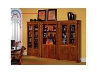 Inter CL. Mobilia: Stilum: шкаф книжный с полками. 2 двери стекло