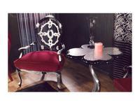 Tecni Nova: Diamond: стол журнальный  (серебро ,черный)