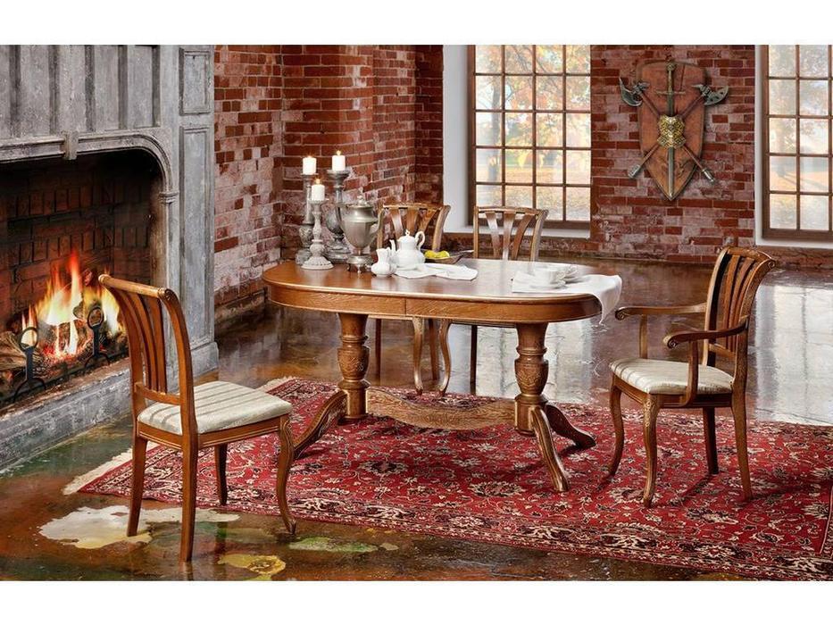 Оримэкс: стол обеденный Рондо-Т раскладной (орех)