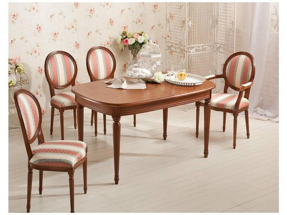 Оримэкс: стол обеденный Цезарь раскладной (орех)