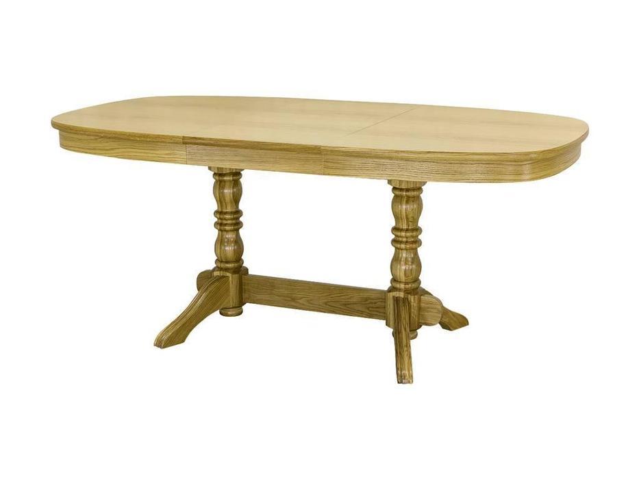 Оримэкс: стол обеденный Премьер-М раскладной (светлый дуб)