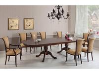 Оримэкс: стол обеденный Консул-Т раскладной (темный дуб)