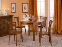 Оримэкс: стол обеденный Поло-К раскладной (дуб)