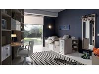 Lineas taller: Teen Space: детская комната №7 (натуральный, белый)