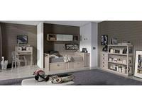 5117068 детская комната современный стиль Lineas taller: Teen Space