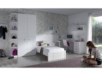 5117071 детская комната современный стиль Lineas taller: Teen Space