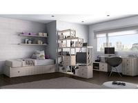 5117095 детская комната современный стиль Lineas taller: Teen Space