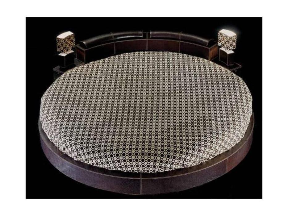Formitalia: Round: кровать круглая двуспальная диаметр 272 (венге)