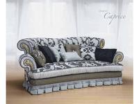 Morello Gianpaolo: диван Caprice 3-х местный  ткань